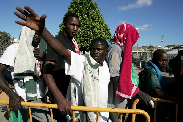 Marco Di Lauro「African Migrants Seek Refuge In Temporary Shelter」:写真・画像(11)[壁紙.com]