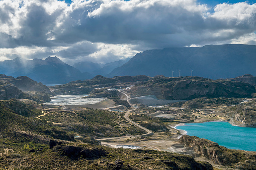 cloud「Laguna Verde by small town of Chile Chico, General Carrera Province, Chile」:スマホ壁紙(0)