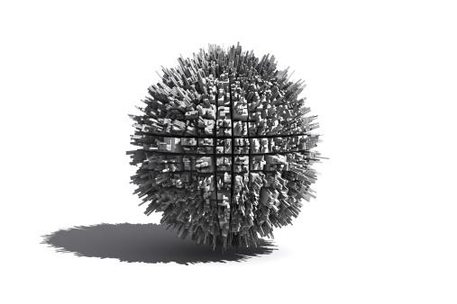 Sphere「High density city planet」:スマホ壁紙(8)