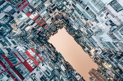 社会問題「High Density Living」:スマホ壁紙(18)