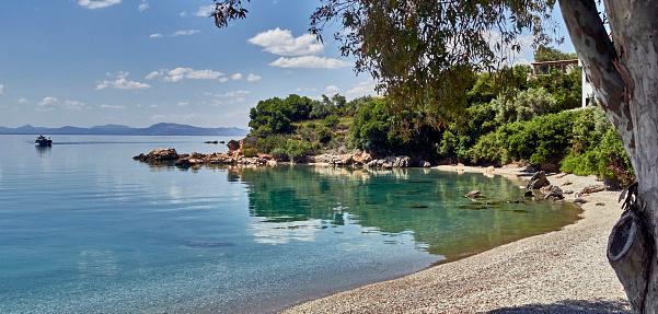 Aegean Sea「A beach along the Aegean sea in the Pagasitikos gulf near Horto」:スマホ壁紙(19)