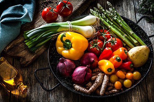 Dieting「Fresh vegetables still life」:スマホ壁紙(7)