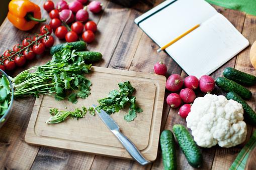 Kitchen Knife「Fresh vegetables」:スマホ壁紙(13)