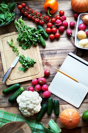 Vegetarian Food「Fresh vegetables」:スマホ壁紙(15)