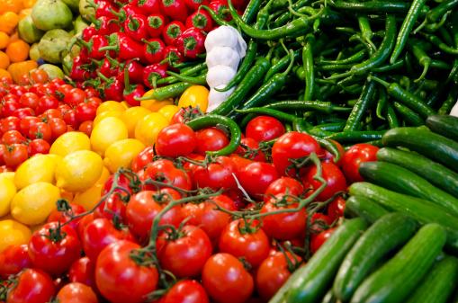 Supermarket「Fresh vegetables」:スマホ壁紙(15)