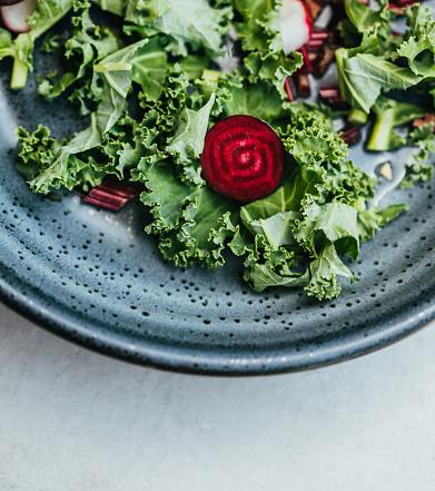 Salad「Fresh vegetable on concrete table」:スマホ壁紙(7)