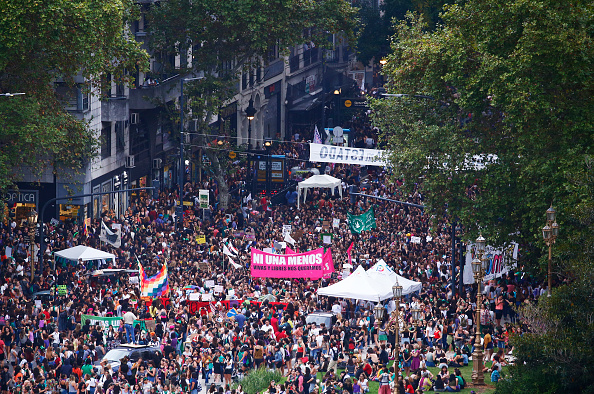 Latin America「National Women's Strike In Argentina」:写真・画像(16)[壁紙.com]