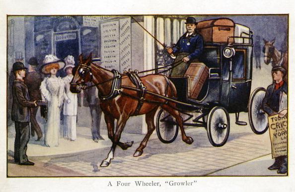 City Life「A Growler, a four wheeled carriage」:写真・画像(10)[壁紙.com]