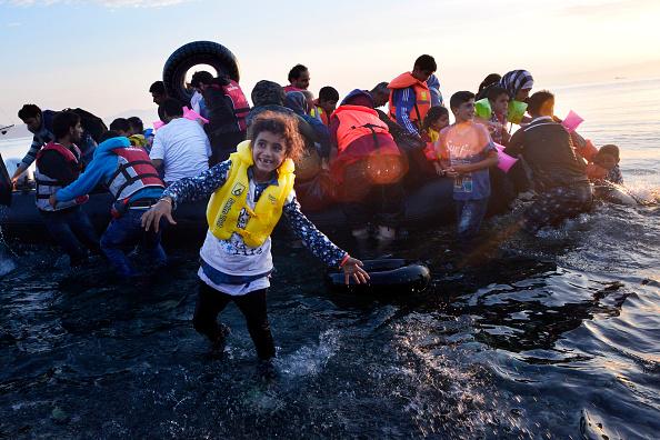 笑顔「Situation In Kos Worsens As Migrants Continue To Arrive」:写真・画像(15)[壁紙.com]