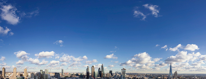 London Bridge - England「London Aerial Cityscape」:スマホ壁紙(8)