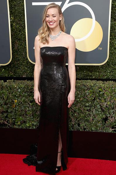 Yvonne Strahovski「75th Annual Golden Globe Awards - Arrivals」:写真・画像(10)[壁紙.com]