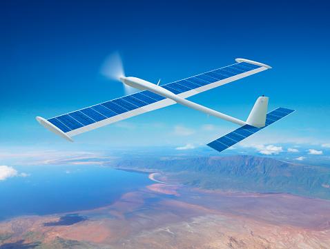 Independence「Solar drone airplane」:スマホ壁紙(18)