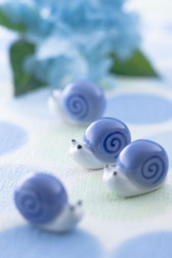 あじさい「Snail ornament」:スマホ壁紙(14)