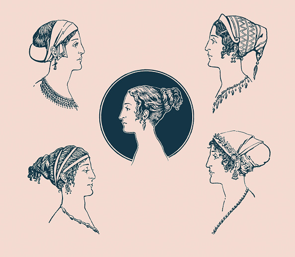 服装「Ancient Greek hairstyles」:写真・画像(1)[壁紙.com]