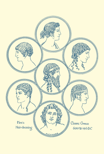 Classical Greek「Ancient Greek hairstyles」:写真・画像(17)[壁紙.com]