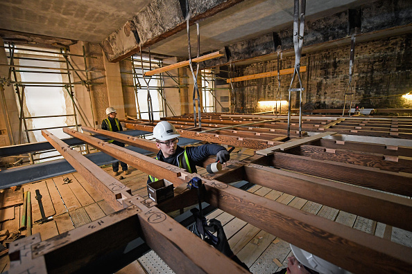 Glasgow - Scotland「Restoration Work Continues At Glasgow School Of Art」:写真・画像(3)[壁紙.com]