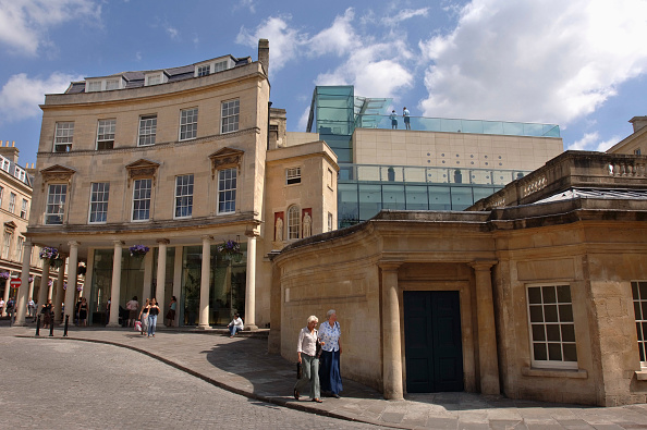 Health Spa「The Georgian faìade of The Thermal Bath Spa in Somerset UK」:写真・画像(18)[壁紙.com]