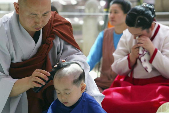Start Button「Children Become Buddhist Monks For A Month In Seoul」:写真・画像(8)[壁紙.com]