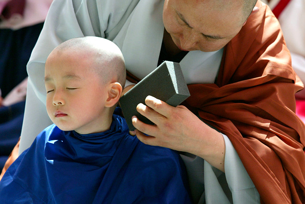 Push Button「Children Become Buddhist Monks For A Month In Seoul」:写真・画像(16)[壁紙.com]