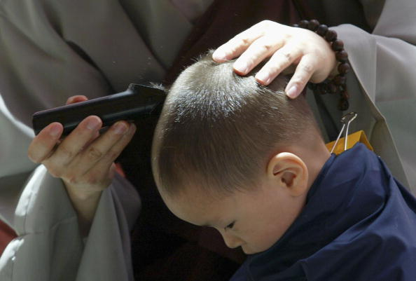 Start Button「Children Become Buddhist Monks For A Month In Seoul」:写真・画像(9)[壁紙.com]