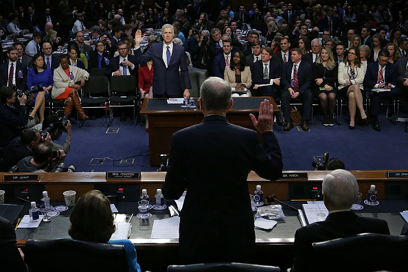 Hart Senate Office Building「Senate Holds Confirmation Hearing For Supreme Court Nominee Neil Gorsuch」:写真・画像(15)[壁紙.com]