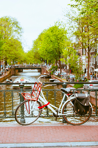 Amsterdam「Bicycle in Amsterdam」:スマホ壁紙(19)