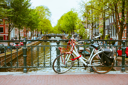 Amsterdam「Bicycle in Amsterdam」:スマホ壁紙(19)