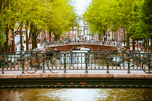 Amsterdam「Bicycle in Amsterdam」:スマホ壁紙(10)