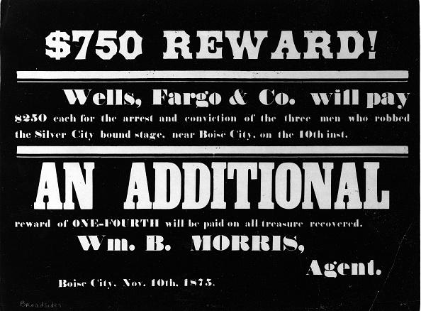 1870-1879「$750 Reward Poster」:写真・画像(19)[壁紙.com]