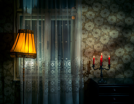 Mystery「Dark spooky old room」:スマホ壁紙(18)