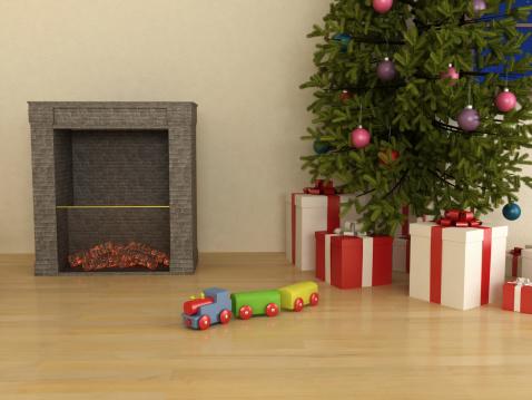 マツ科「クリスマスに備えて」:スマホ壁紙(6)