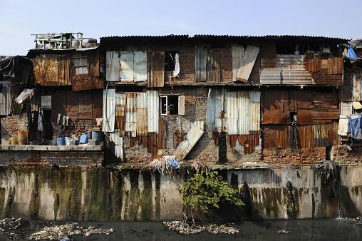 South Asia「Dharavi Slum in Mumbai」:スマホ壁紙(1)