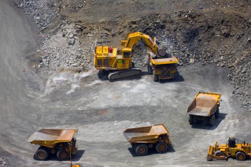 Construction Vehicle「Gold Mine」:スマホ壁紙(7)