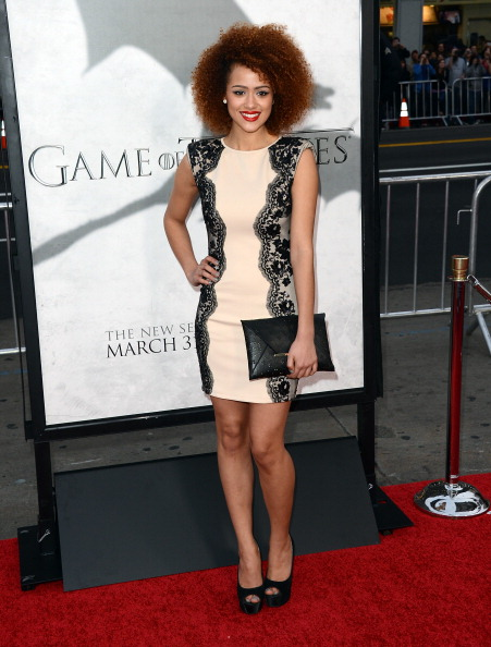 """Scalloped - Pattern「Premiere Of HBO's """"Game Of Thrones"""" Season 3 - Arrivals」:写真・画像(13)[壁紙.com]"""