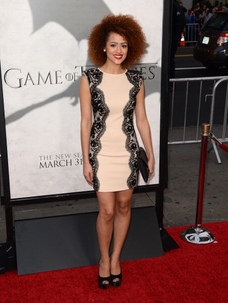 """Scalloped - Pattern「Premiere Of HBO's """"Game Of Thrones"""" Season 3 - Arrivals」:写真・画像(12)[壁紙.com]"""