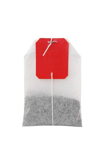 Teabag「Tea bag on white background」:スマホ壁紙(8)