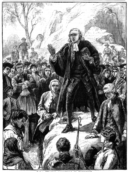 Methodist「John Wesley, 18th century English non-conformist preacher, 1888.」:写真・画像(9)[壁紙.com]