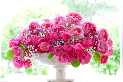 Flower Arrangement「Bunch of Roses」:スマホ壁紙(5)