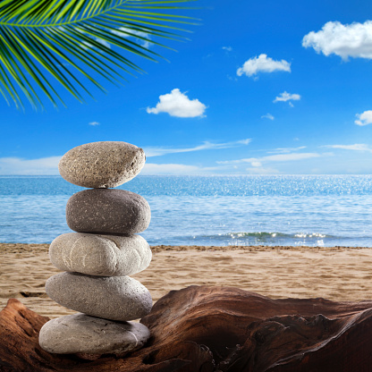 Wave「summer balance on beach」:スマホ壁紙(13)