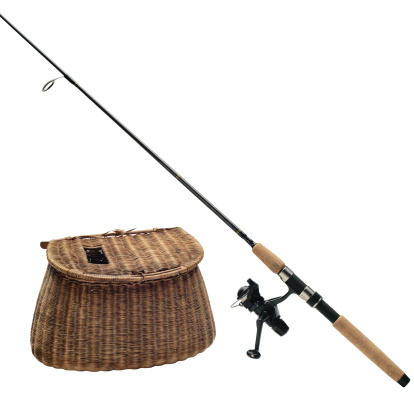 Fishing「Fishing Rod and Creel」:スマホ壁紙(9)