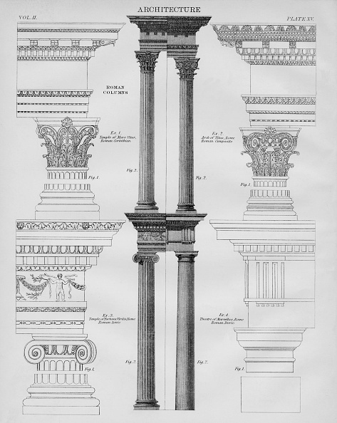 Classical Style「Roman Columns」:写真・画像(11)[壁紙.com]