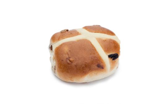 イースター「Hot cross bun isolated」:スマホ壁紙(16)