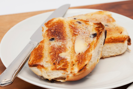 Toasted Food「Hot cross buns」:スマホ壁紙(6)