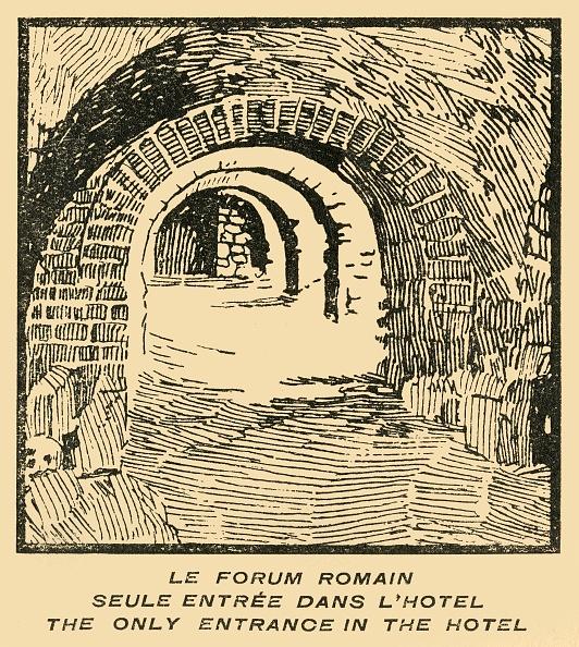 Construction Material「Le Forum Romain Seule Entree Dans Lhotel - Roman Forum Entrance From The Hotel C」:写真・画像(8)[壁紙.com]