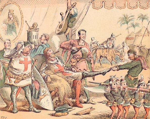 Sock「King Richard I In Palestine, C1884」:写真・画像(19)[壁紙.com]