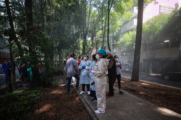 Mexico「Magnitude 7.5 Earthquake Hits Mexico City」:写真・画像(5)[壁紙.com]