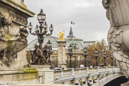 Gas Light「Alexandre III bridge and Grand Palace」:スマホ壁紙(0)