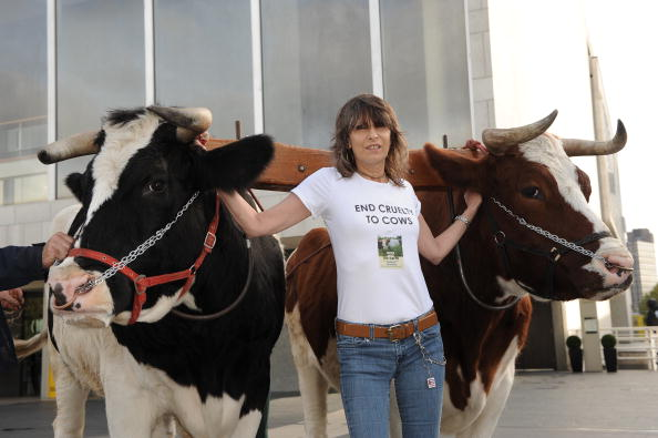 Chrissie Hynde「Cows And The Earth: A Story Of Kinder Dairy Farming - Book Launch Photocall」:写真・画像(6)[壁紙.com]