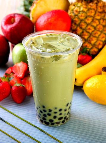 Ice Tea「Green Tea Boba」:スマホ壁紙(9)