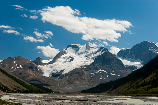 Mt Athabasca「Mount Athabasca with Sunwapta River」:スマホ壁紙(11)